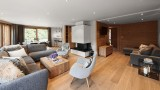 Morzine Luxury Rental Chalet Merline Living Room