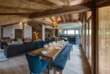 Morzine Location Chalet Luxe Merlinite Salle A Manger