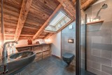 Morzine Luxury Rental Chalet Merlinte Shower Room