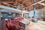 Morzine Luxury Rental Chalet Merlinte Living Room 5