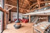 Morzine Luxury Rental Chalet Merlinte Living Room 6