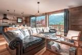 Morzine Luxury Rental Chalet Merlinte Living Room 8