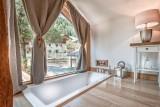 Morzine Luxury Rental Chalet Merlinute Bathroom