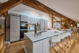 Morzine Luxury Rental Chalet Merlinute Kitchen