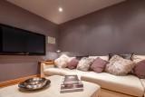 Morzine Luxury Rental Chalet Merlinute Cinema Room