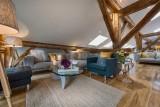 Morzine Luxury Rental Chalet Merlinute Living Room 2