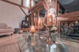 Morzine Luxury Rental Chalet Merlinute Living Room 3