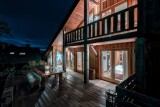 Morzine Luxury Rental Chalet Merlinute Terrace 2