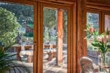 Morzine Luxury Rental Chalet Merlinute Terrace