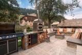 Morzine Luxury Rental Chalet Merlinute Terrace 4
