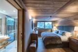 Morzine Luxury Rental Chalet Morzanite Ensuite Bedroom
