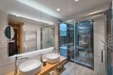 Morzine Luxury Rental Chalet Morzanite Shower Room 2