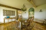 Nice Luxury Rental Villa Nigritelle Dining Room 2