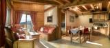 Peisey Vallandry  Location Appartement Luxe Magnolia Salon