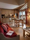 Peisey Vallandry  Location Appartement Luxe Pantaure Salon