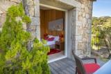 Porto-Vecchio Location Villa Luxe Poivre Terrasse Chambre