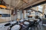 Saint Martin Belleville Luxury Rental Chalet Ipalou Dining Room 2
