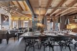 Saint Martin Belleville Luxury Rental Chalet Ipalou Dining Room
