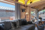 Saint Martin Belleville Luxury Rental Chalet Ipalou Living Room 2