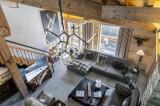 Saint Martin Belleville Luxury Rental Chalet Ipalou Living Room 4