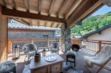 Saint Martin Belleville Luxury Rental Chalet Ipalou Terrace 2