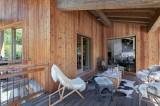 Saint Martin Belleville Luxury Rental Chalet Ipalou Terrace