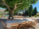 Saint Rémy De Provence Luxury Rental Villa Maladavite Outside Table
