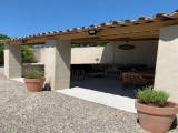 Saint Rémy De Provence Luxury Rental Villa Maladavite Covered Terrace