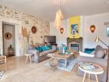 Saint Rémy De Provence Location Villa Luxe Moldavite Séjour