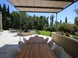 Saint Rémy De Provence Luxury Rental Villa Murcasite Outdoor Dining Room