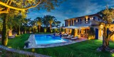 Saint-Tropez Location Villa Luxe Teel Jardin Nuit