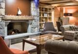 Samoëns Location Appartement Luxe Saloite Duplex Réception