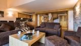 Tignes Location Appartement Luxe Nadorine Duplex Salon 1