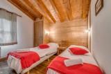Tignes Luxury Rental Chalet Exokate Bedroom 2
