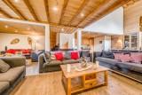 Tignes Luxury Rental Chalet Exokate Living Room 3