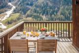 Tignes Luxury Rental Chalet Exokate Terrace