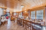 Tignes Location Chalet Luxe Gizite Salle A Manger
