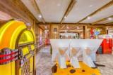 Tignes Location Chalet Luxe Quinine Salle Manger