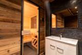 Tignes Location Chalet Luxe Titanite Sauna
