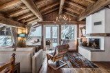 Courchevel 1850 Luxury Rental Chalet Tazuy Living Room 3