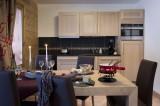 Val Cenis Location Appartement Luxe Verre Opalin Cuisine