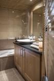 Val Cenis Location Appartement Luxe Verre Opalin Salle De Bain