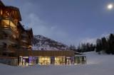 Val Cenis Location Appartement Dans Résidence Luxe Verre Saphir Duplex Extérieur Nuit
