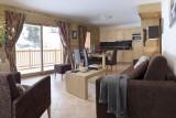 Val Cenis Location Appartement Dans Résidence Luxe Verre Saphir Duplex Salon 1