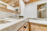 Val d'Isère Location Appartement Dans Résidence Luxe Solena Baignoire