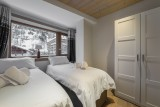 Val d'Isère Location Appartement Luxe Cybali Chambre