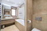 Val d'Isère Luxury Rental Appartment Cybali Bathroom