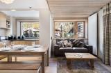 Val d'Isère Location Appartement Luxe Cybali Séjour 2