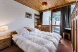 Val d'Isère Location Appartement Luxe Jadenois Chambre 2