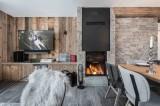 Val d'Isère Location Appartement Luxe Ulolite Séjour